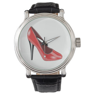 Red Shoe Watch
