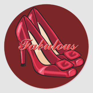 Red Shoes Stickers
