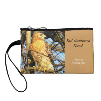 Red-shouldered Hawk Pouch