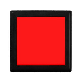 Red-Side Orange Custom Coloured Gift Box