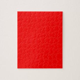 Red-Side Orange Custom Coloured Jigsaw Puzzle