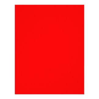 Red-Side Orange Custom Coloured Letterhead