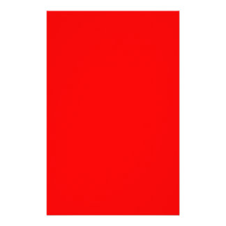 Red-Side Orange Custom Coloured Stationery