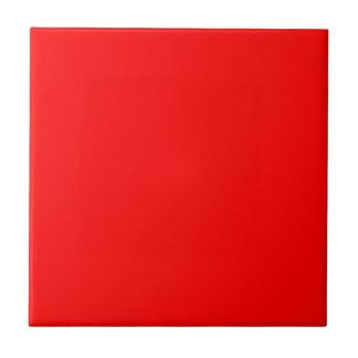 Red-Side Orange Custom Coloured Tile