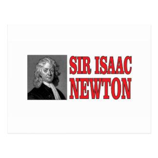 red sir Newton Postcard