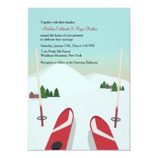 Snow Skiing Invitations Amp Announcements