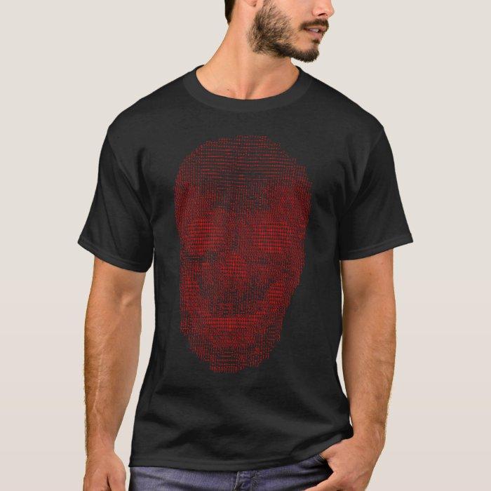 Red Skull Code T-Shirt
