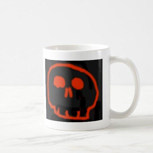 Red Skull Mugs