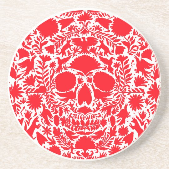 RED SKULL PRODUCTS COASTER