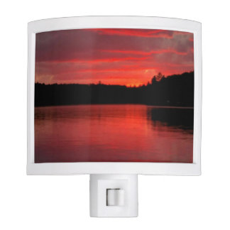 Red sky  Night light