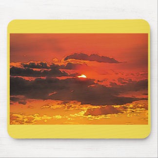 Red Sky @ Night Mouse Pad