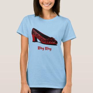 red slippers, Bling Bling T-Shirt