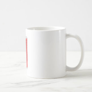 Red smart speaker coffee mug