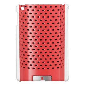 Red smart speaker iPad mini cover