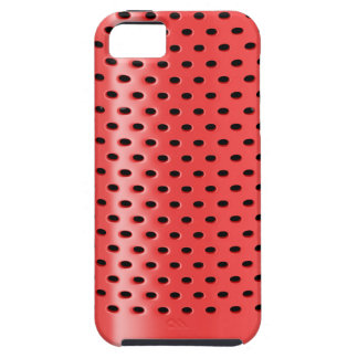 Red smart speaker iPhone 5 cover