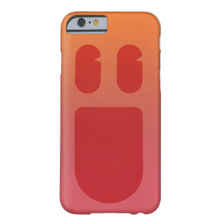 Red Smile Phonecase iPhone 6/6s Barely There iPhone 6 Case