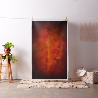 Red Smoke Clouds Photography Backdrop Fabric