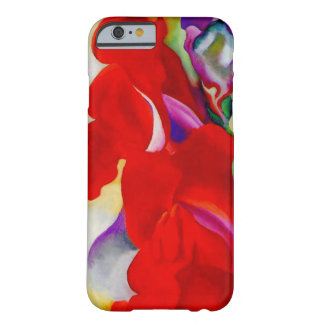 Red Snap Dragon Barely There iPhone 6 Case