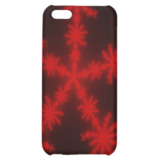 Red SnowFlakes iPhone 5 Case