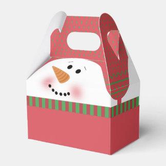 Red Snowman Gable Box