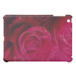 Red Soft red roses flowers Case For The iPad Mini