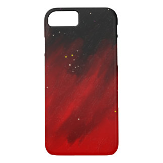 Red space mist. iPhone 7 case