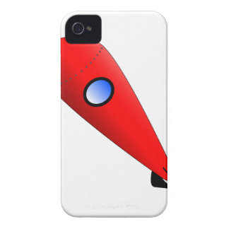 Red Space Rocket iPhone 4 Covers