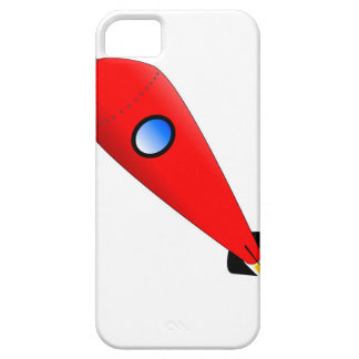 Red Space Rocket iPhone 5 Cases