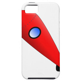 Red Space Rocket iPhone 5 Cover