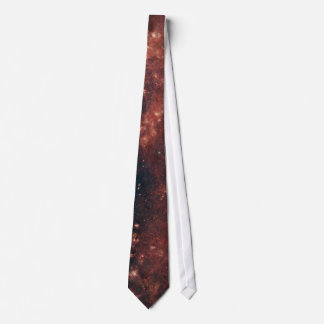 Red Space Tie