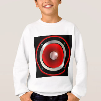 Red Speaker Cone Sweatshirt