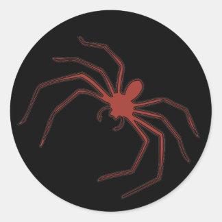 Red Spider Classic Round Sticker