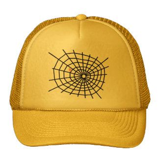 Red Spiders Web! Trucker Hat