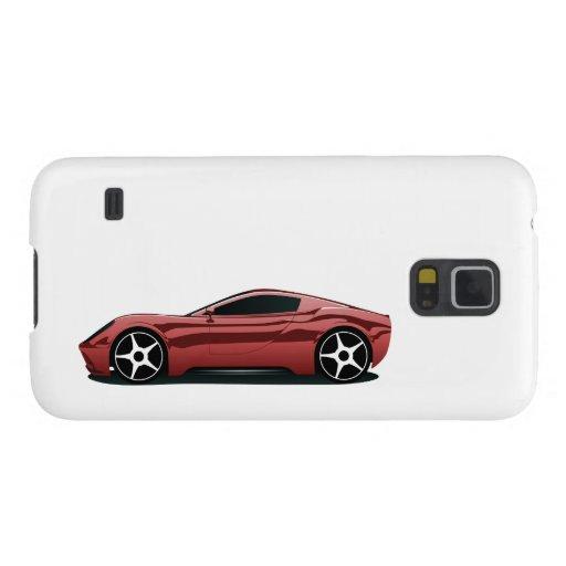 Red sport car samsung galaxy nexus cover