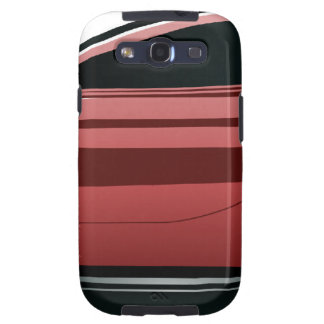 Red sport car png galaxy s3 case