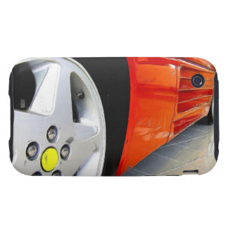 Red sports car iPhone 3 tough cases