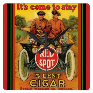Red Spot Cigar Vintage Ad Wall Clock