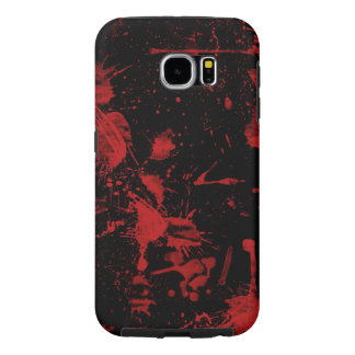 red spots on black  background vector textures samsung galaxy s6 cases