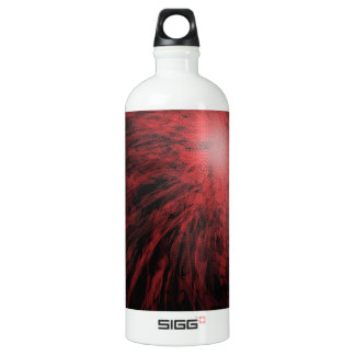 Red Spotted Spiral - SIGG Water Bottle