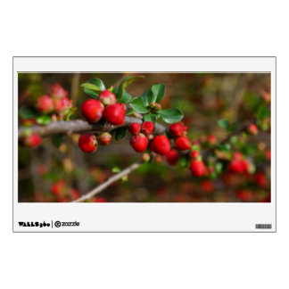 Red Spring Buds Wall Sticker