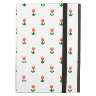 Red Spring Tulip Flowers Case For iPad Air