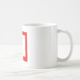 Red Square Mug