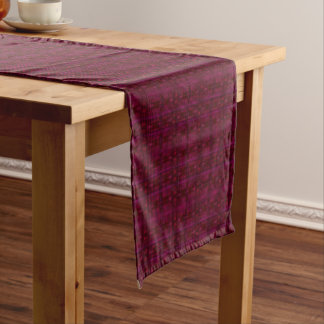 "Red Squared - 14"" X 72"" Table Runner"