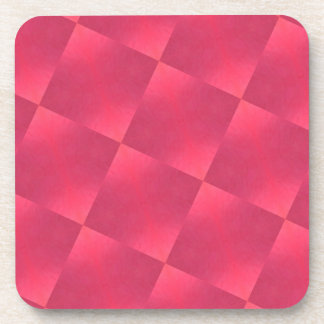 Red Squares Coaster Set
