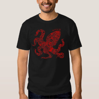 Red Squid Shirts
