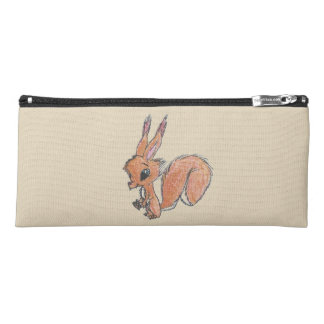 Red Squirrel Pencil Case