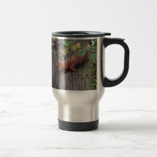 Red Squirrel Travel Mug