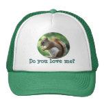 Red Squirrel Trucker Hat