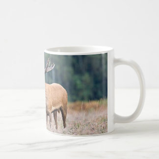 red stag coffee mug