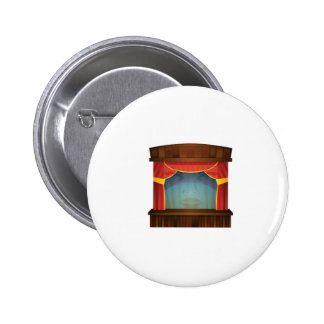 red stage open 2 inch round button